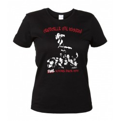 Centocelle City Rockers - Maglietta Ufficiale Donna - Punk in Rome since 1977