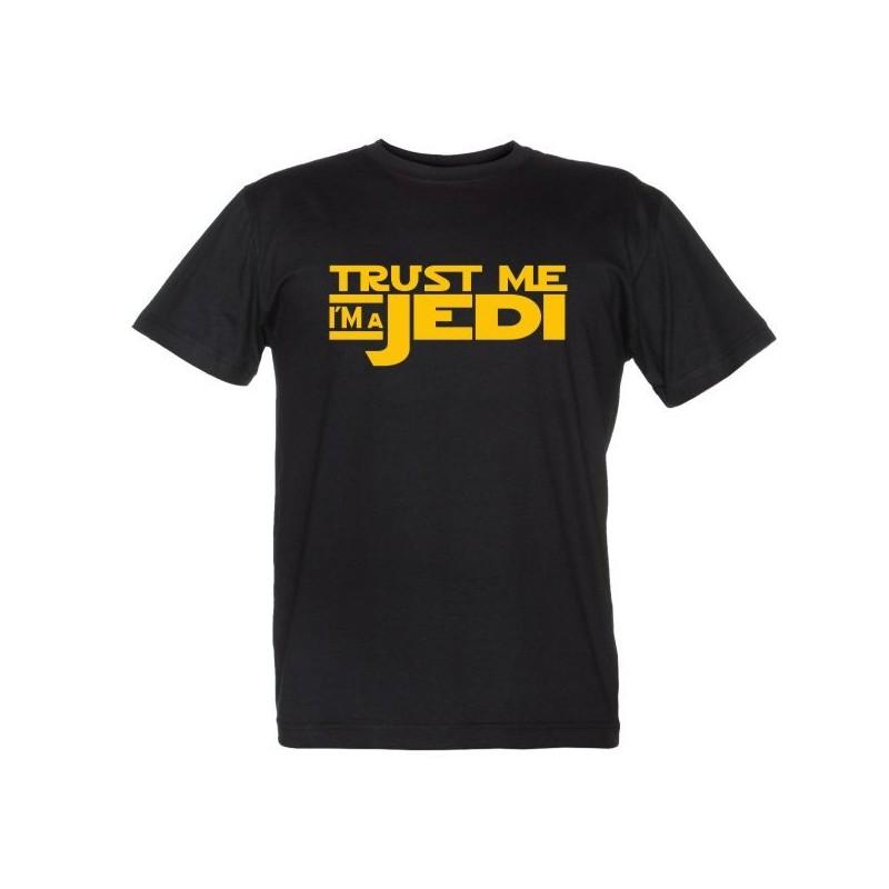 Trust Me I'm a Jedi - Maglietta Divertente - Credimi sono un Jedi