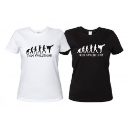 Arti Marziali True Evolution - T-Shirt Donna