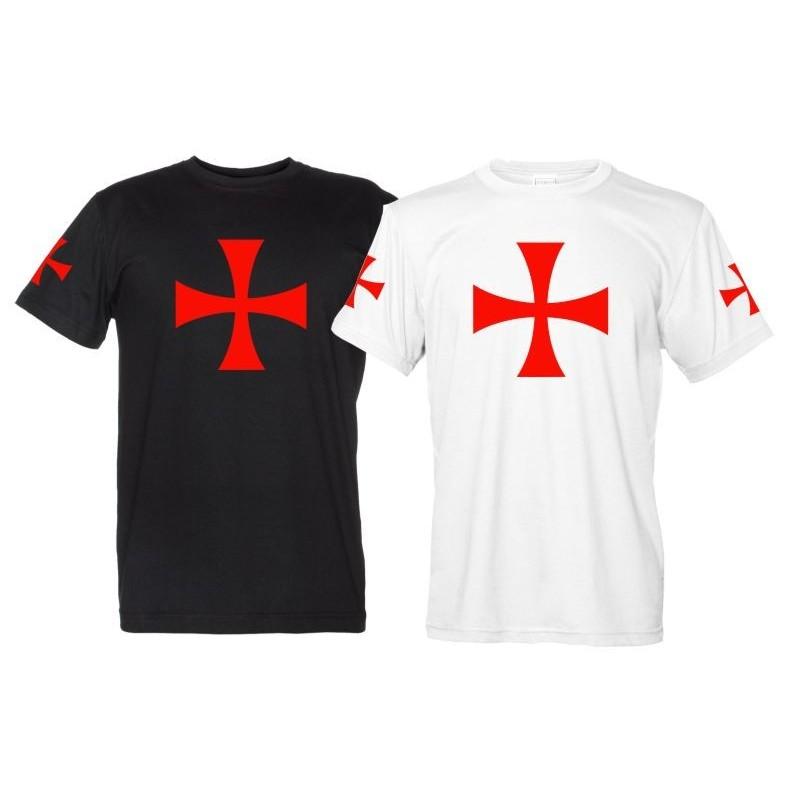Croce Templare - Maglietta Cavalieri Templari