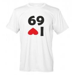 Love Il I Io Amo Maglietta Divertente 69 QsxhdCtr