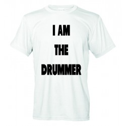 I Prefer the Drummer - I am the Drummer - Coppia T-Shirt Donna e Uomo