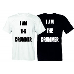 I am the Drummer - T-Shirt Uomo