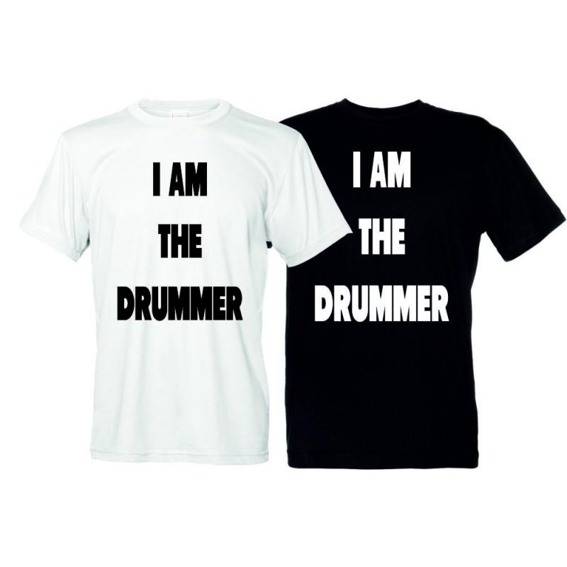 I am the Drummer - T-Shirt Uomo