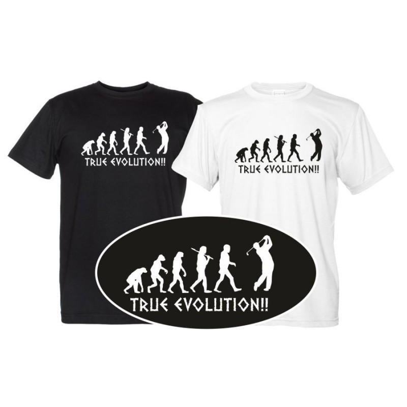 Golf True Evolution - Maglietta Uomo golfista