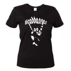 Headbanger - Maglietta Donna Heavy Metal