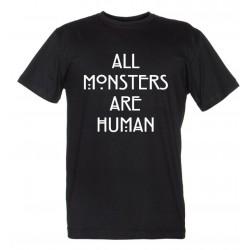 All Monster Are Human - Maglietta