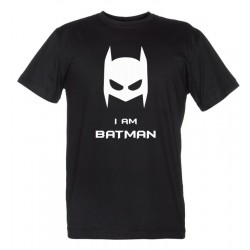 I am Batman - I am Catwoman - Coppia Magliette Uomo e Donna