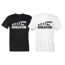 Fishing Evolution - Maglietta Evoluzione Pesca