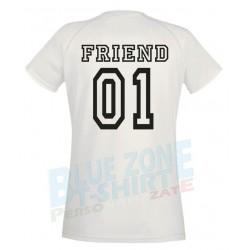 Best Friend Coppia Magliette Migliori Amiche Personalizzate