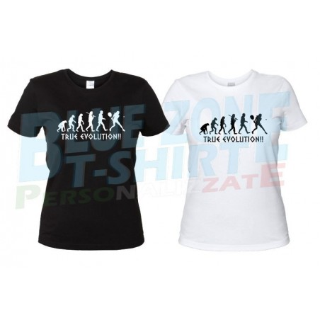 Tennis Evolution - Maglietta Evoluzione Donna