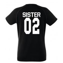 Sister - Coppia Magliette Sorelle Amiche