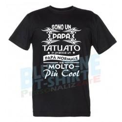 Sono un Papà Tatuato.... Maglietta