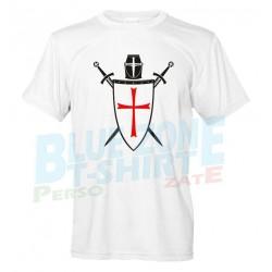 Cavalieri Templari Maglietta Crociati