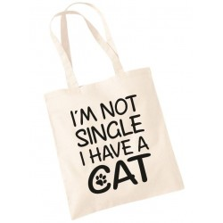 I'm Not Single I Have a Cat - Sopper Borsa Divertente