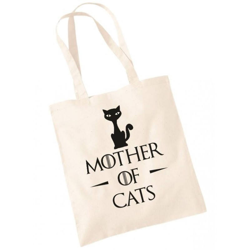 Mother of Cats - Shopper Divertente Gatti