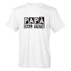 Papà dal... Maglietta personalizzata
