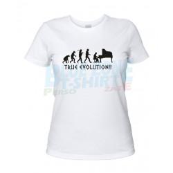 Piano Evolution - Maglietta Donna Pianista