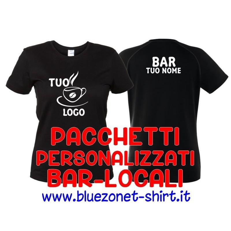 Pacchetto Magliette Personalizzate Bar