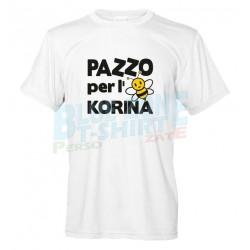 Pazzo per L'Ape Korina - T-shirt Uomo Divertente