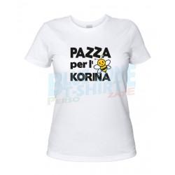 Pazza per L'Ape Korina - T-shirt Donna dIVERTENTE