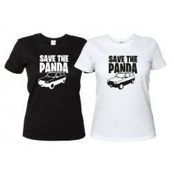 Save the Panda - maglietta Donna Automobile