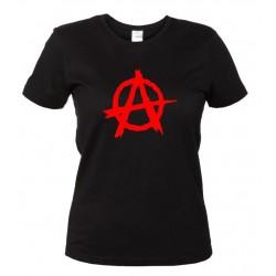 Anarchy - Maglietta Donna Anarchia