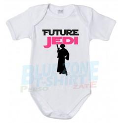 future Jedi body Neonato futuro jedi bimba