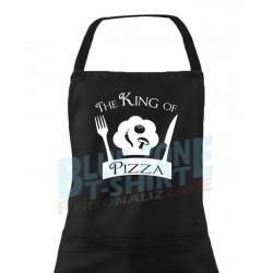 The King of Pizza grembiule  idea regalo il re della pizza