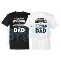 maglietta maestro insegnante sopravvissuto alla DAD