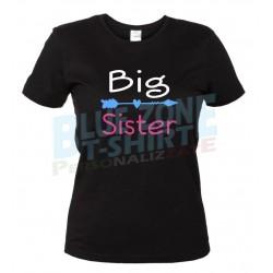 big Sister maglietta sorella nera