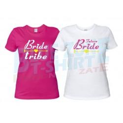 Bride Tribe - Magliette Addio al Nubilato Sposa e Amiche
