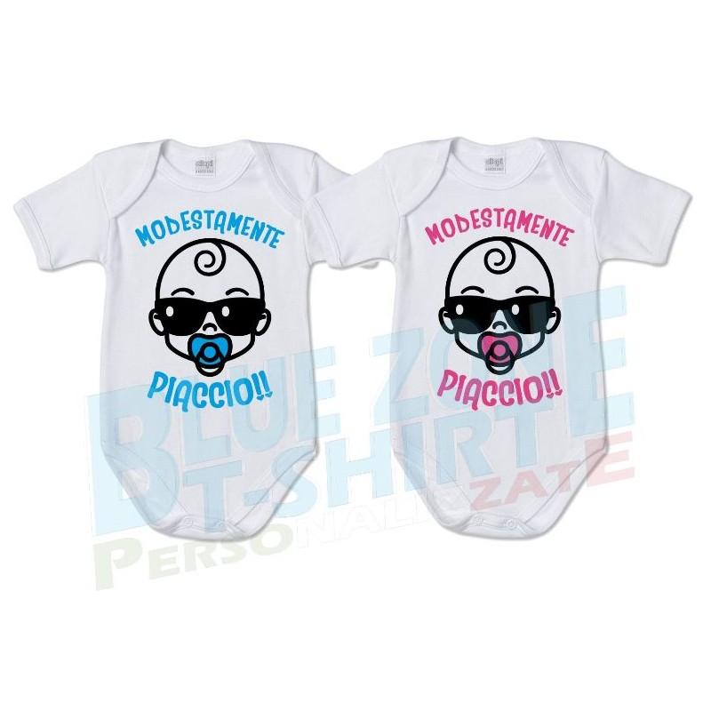 body neonato divertente modestamente piaccio