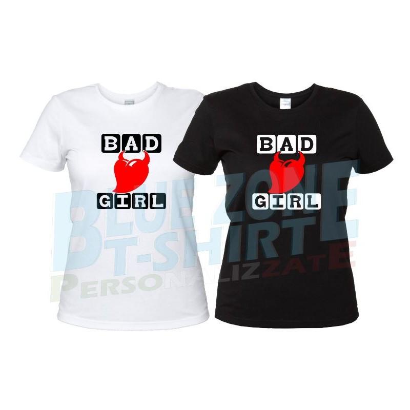 maglietta bad girl cattiva ragazza