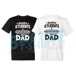maglietta studente sopravvissuto alla didattica a distanza DAD