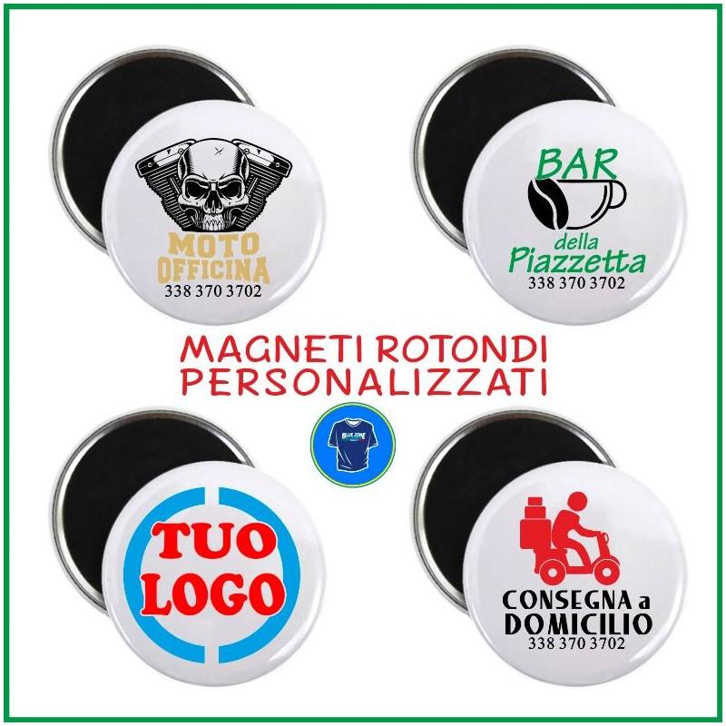 calamite magneti circolari personalizzati