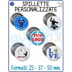 Spillette Personalizzate Pins Gadget